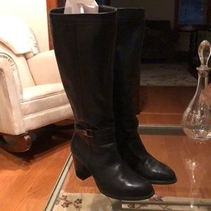 Giani Bernini black boots size 9 medium.